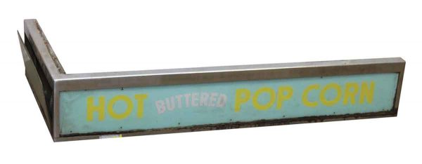 Hot Butter Popcorn Sign