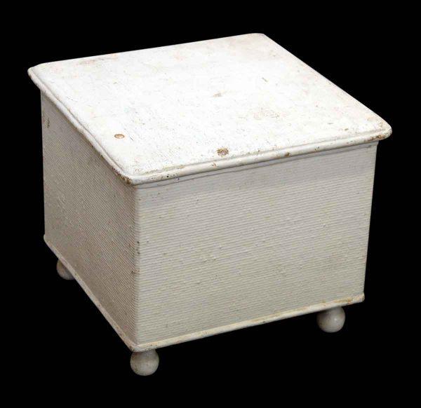 Small White Storage Chest