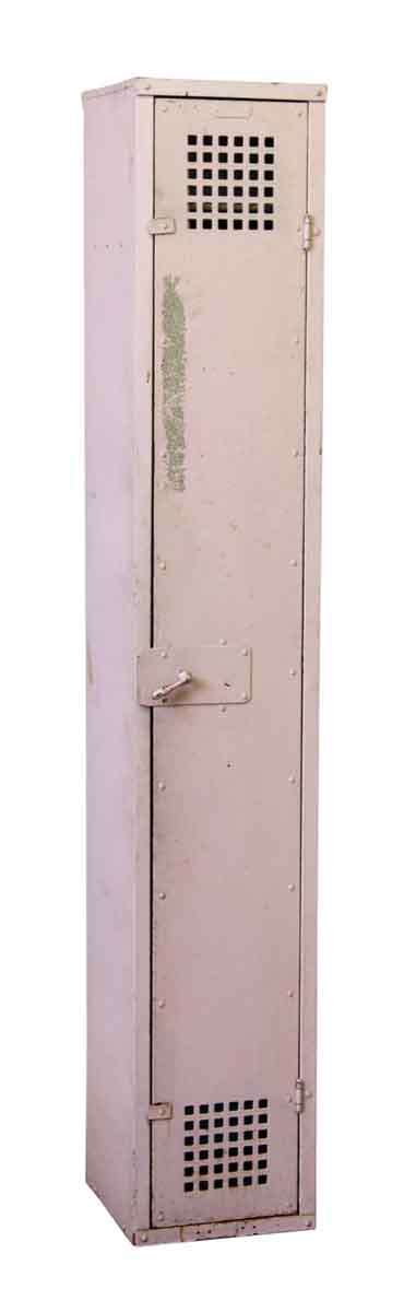 Reclaimed Steel Pink Tall Locker