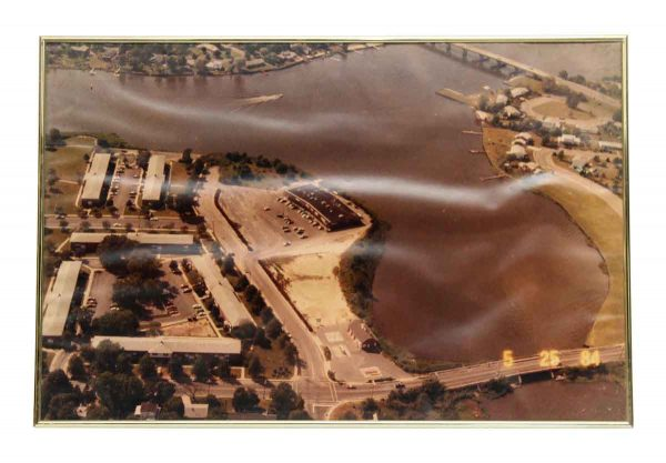 Framed Aerial Photo