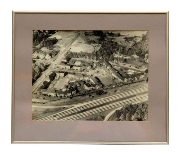 Framed & Matted Aerial Photo