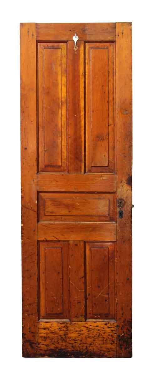 Single Medium Tone Pine Door