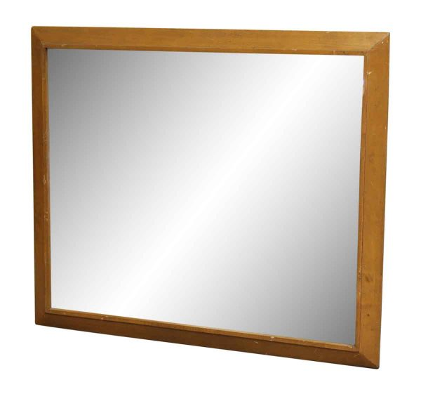 Plain Solid Wood Framed Mirror