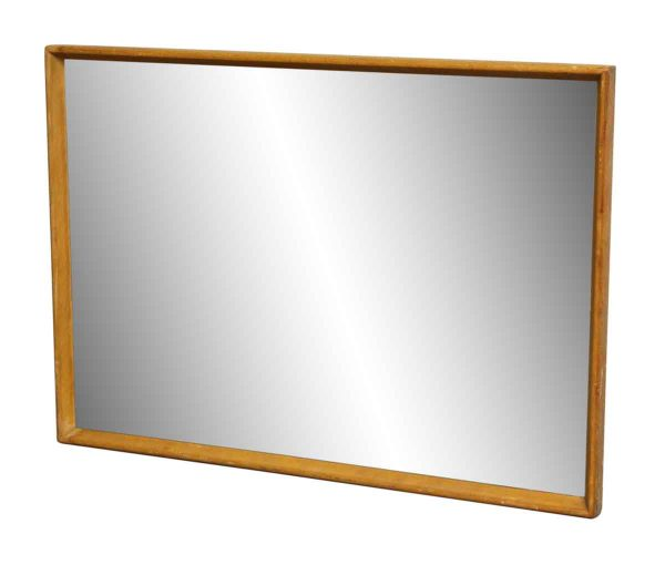Light Wood Framed Mirror
