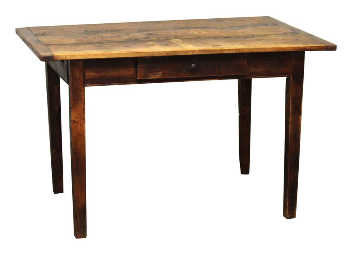 Dark wooden bar wood desk olde good things for Dark wood furniture