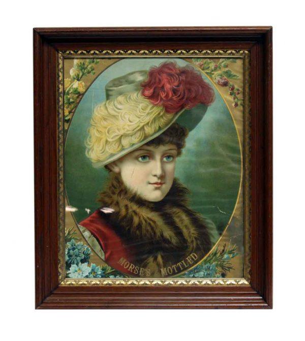 1886 Framed Louise Portrait