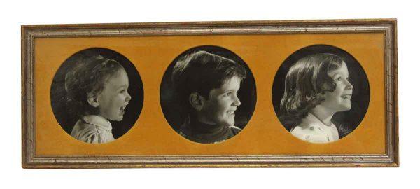 Vintage Portrait Trio