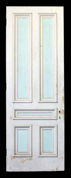 101.5 in H Wooden Five Panel Door