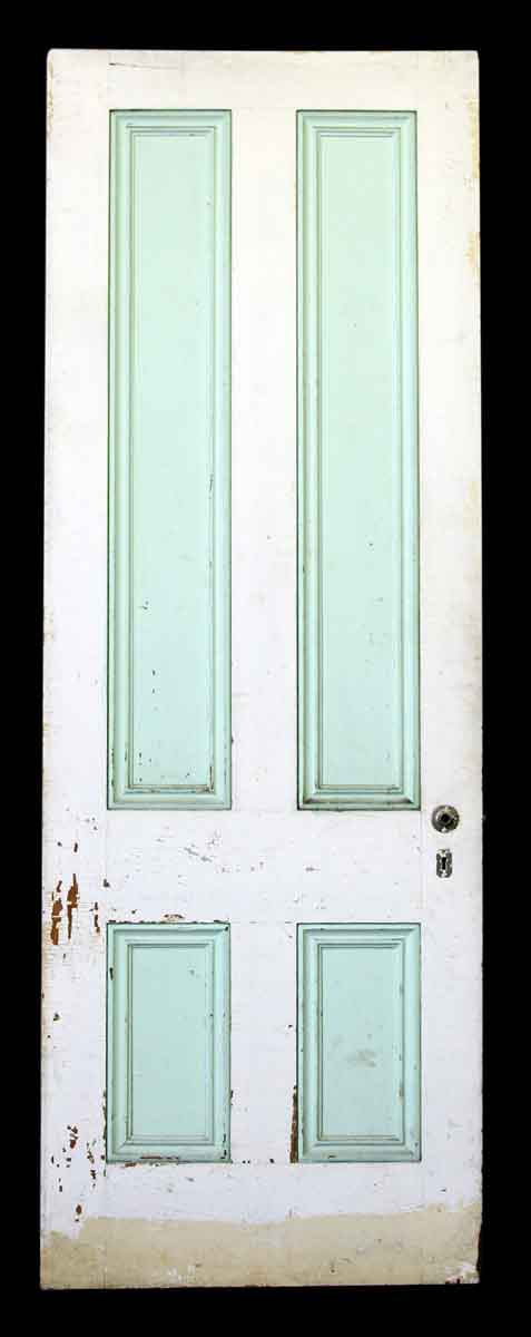 95.5 in. H Four Panel Wood Door
