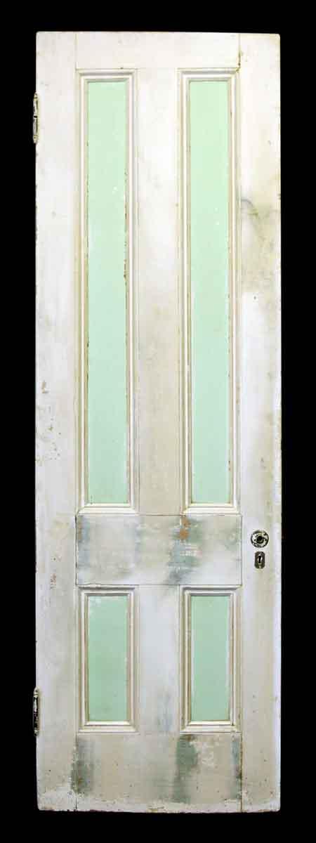Four Vertical Panel Wood Door