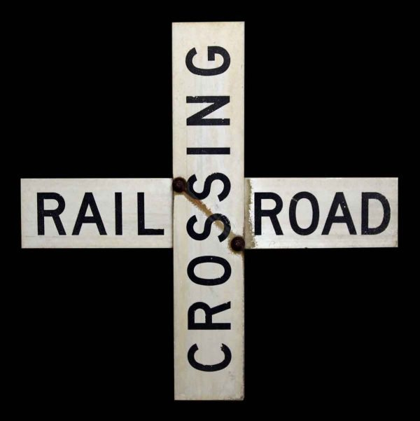 Old Cross Roads Sign