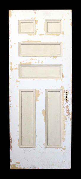 81.5 in. H Six Panel Wood Door
