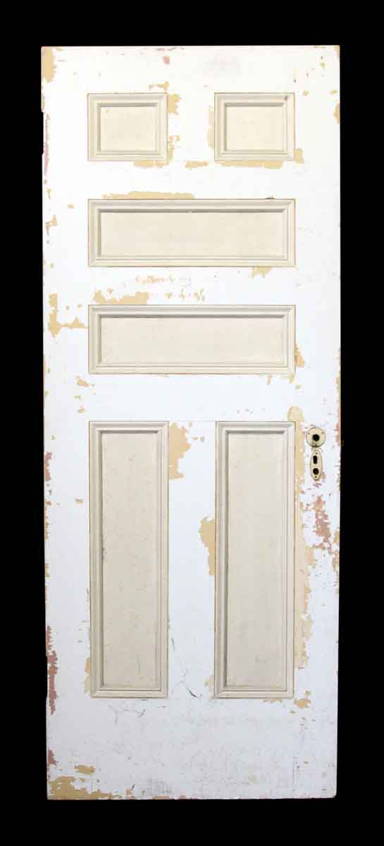 81.5 in. H Six Panel Wood Door
