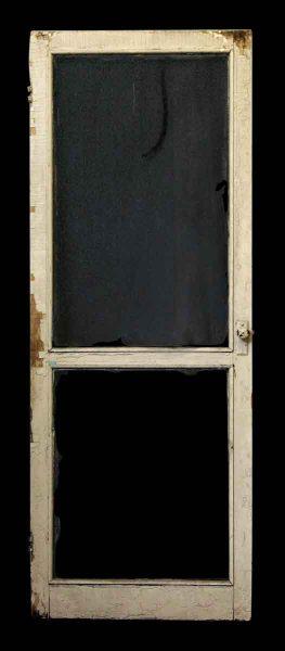 79 in. H Tan Worn Screen Door