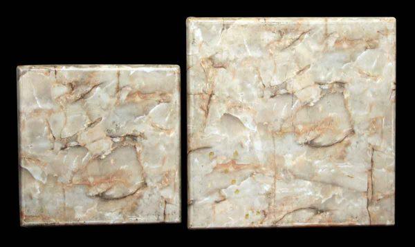 Set of Resin & Melamine Square Tops