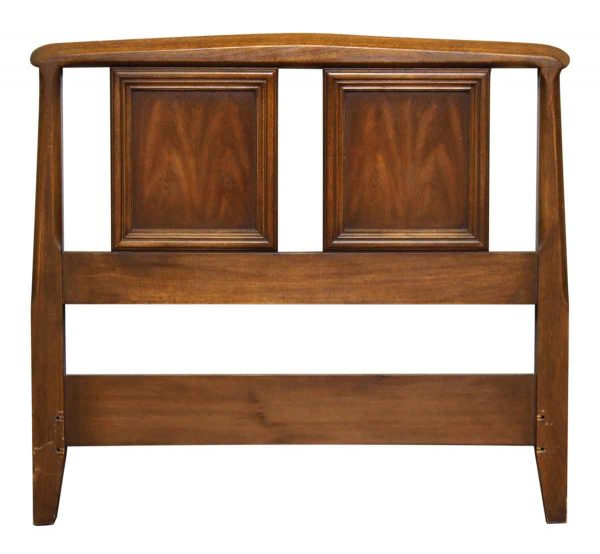 Twin Wood Mid Century Headboard