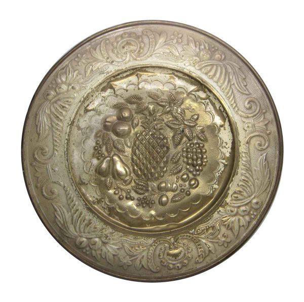 Brass Fruit Design Plate