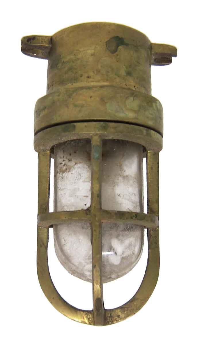nautical flush mount light outdoor small brass nautical ship flush mount light olde good things