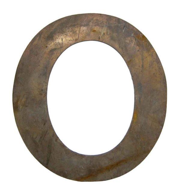 Brass O Letter