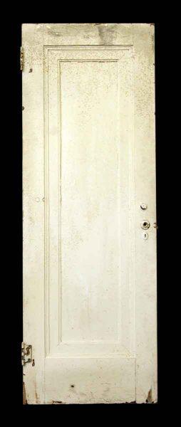 78 in. H One Panel Wood Door