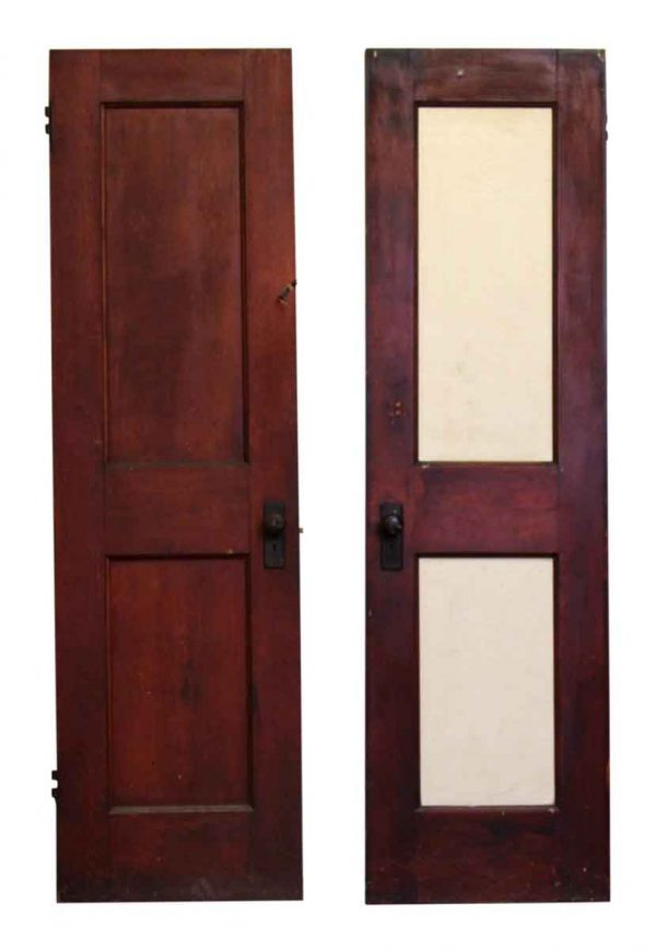 83 in. H Two Panel Wood Door