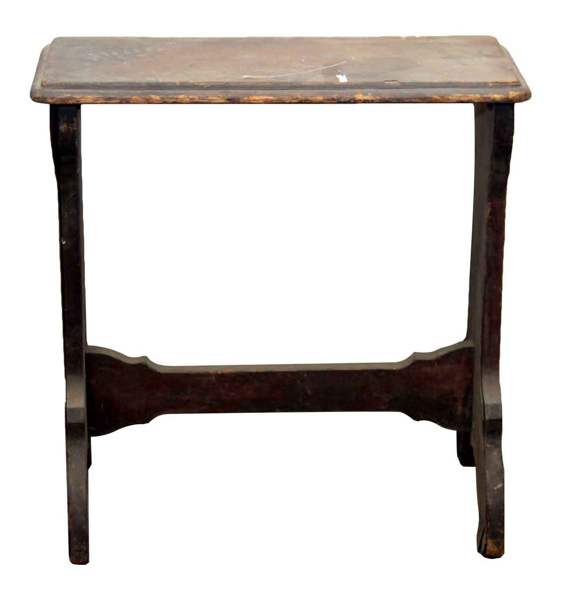 Narrow Wooden Side Table Olde Good Things