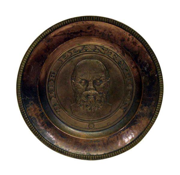 the Plantation Figural Copper Plate