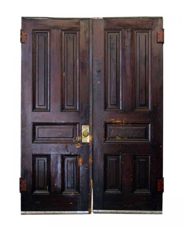 83.5 in H Double Five Panel Doors