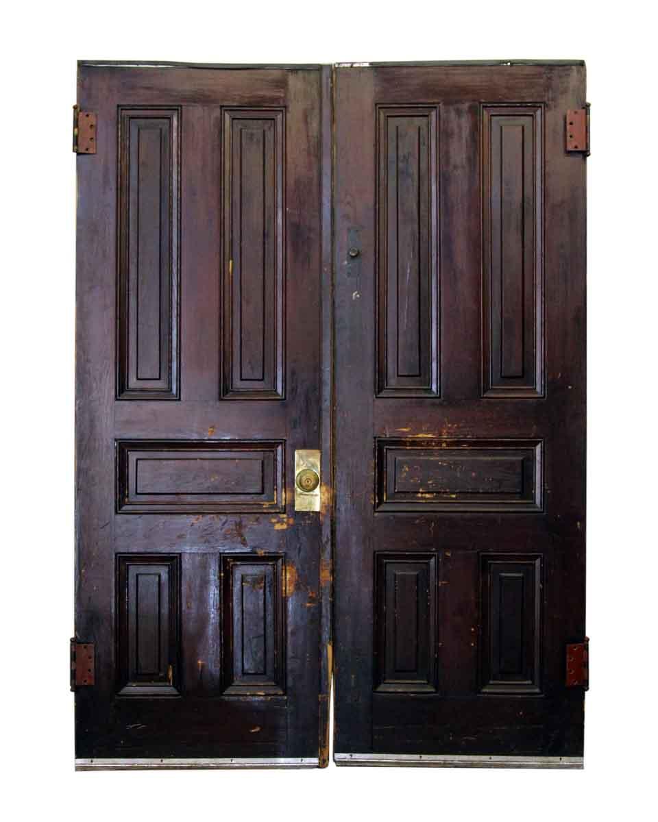 83 5 In H Double Five Panel Doors Olde Good Things