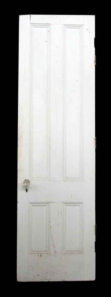 89 in. H Four Panel Narrow Door