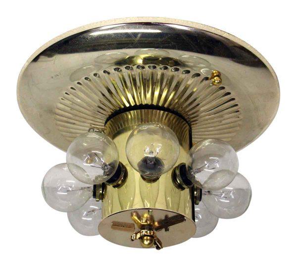 Brass Ceiling Light Fixture