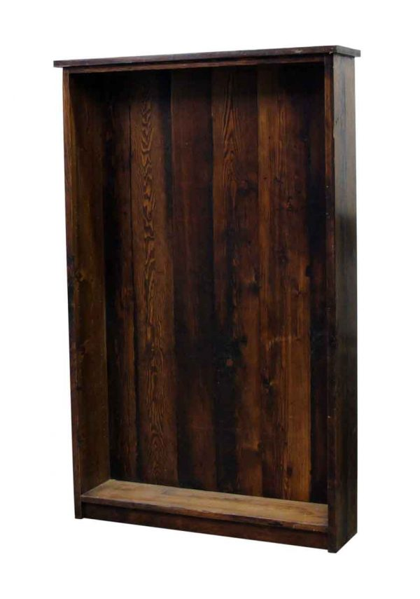 6 Foot Pine Bookcase