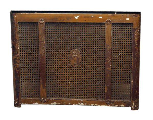 Ornate Metal Radiator Cover