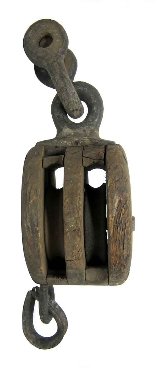 14 in. Wood & Cast Iron Pulley