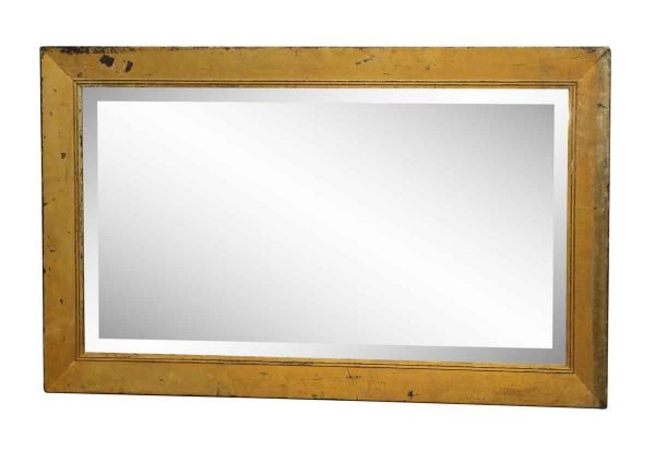 Wood Framed Mirror with Beveled Glass