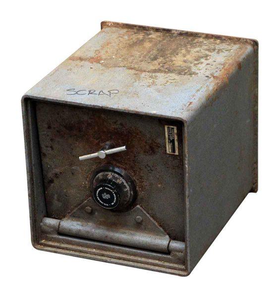 Salvaged Gray Gardall Safe
