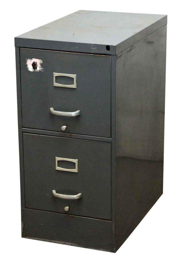 Gray Metal Filing Cabinet