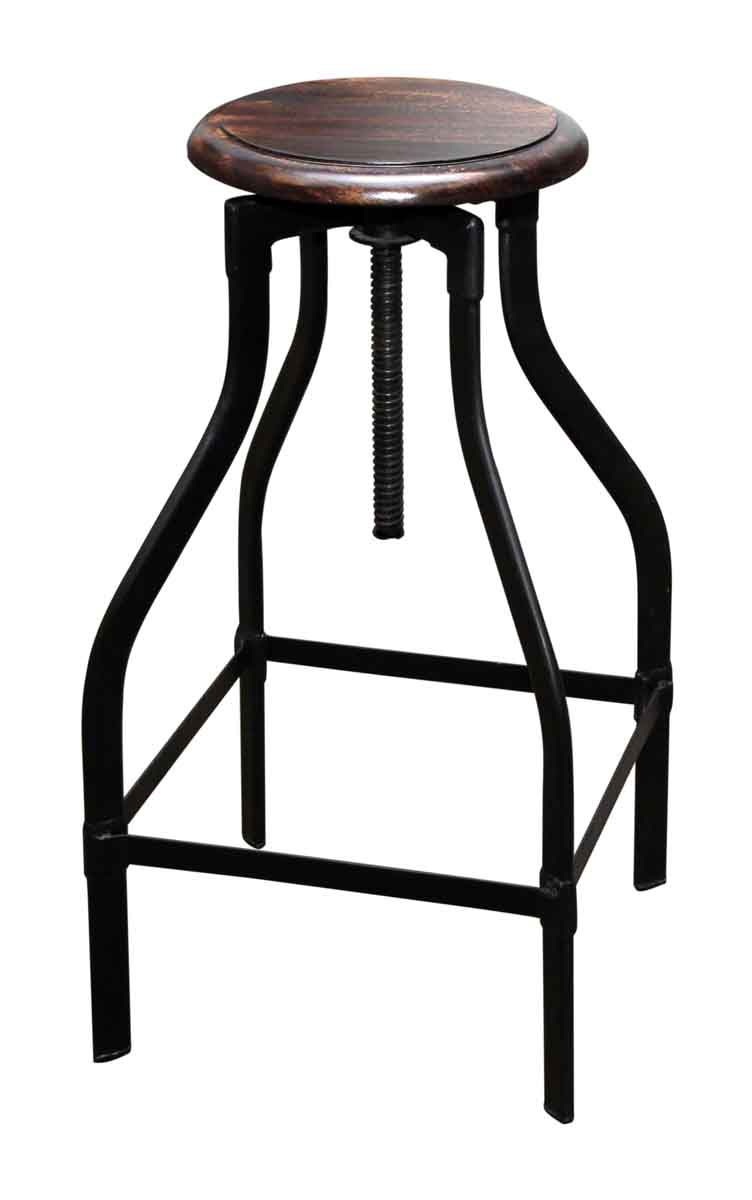 Wood Top Bar Stool Olde Good Things : M237523 04 from ogtstore.com size 752 x 1200 jpeg 22kB