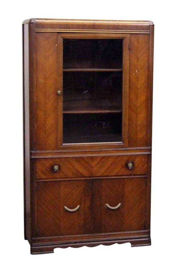 Art Deco Tall Storage Cabinet