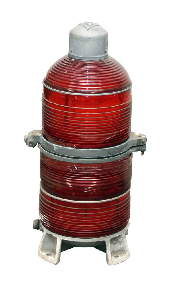 H & P Red Beacon Light