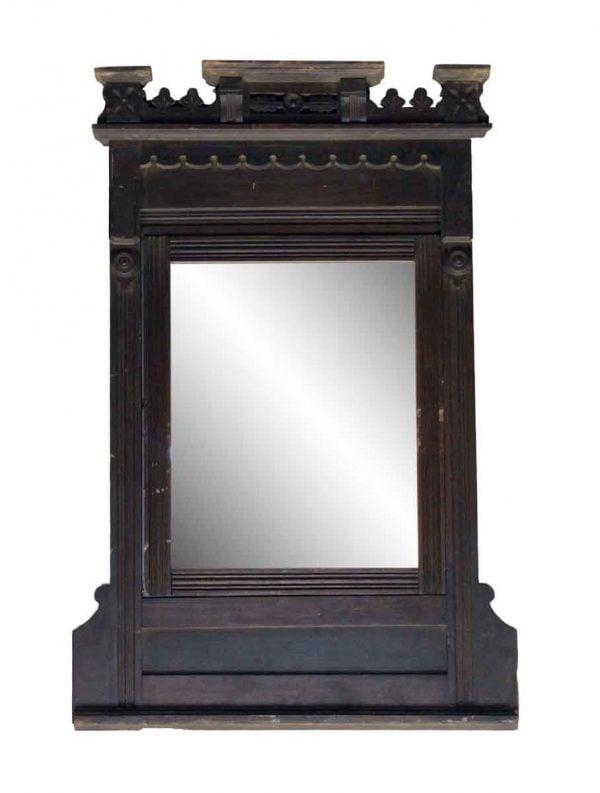 Eastlake Style Carved Vanity Mirror