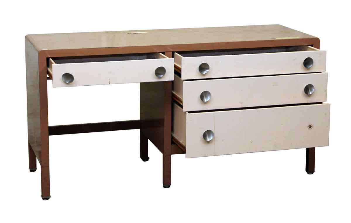 Metal Mid Century Desk Olde Good Things