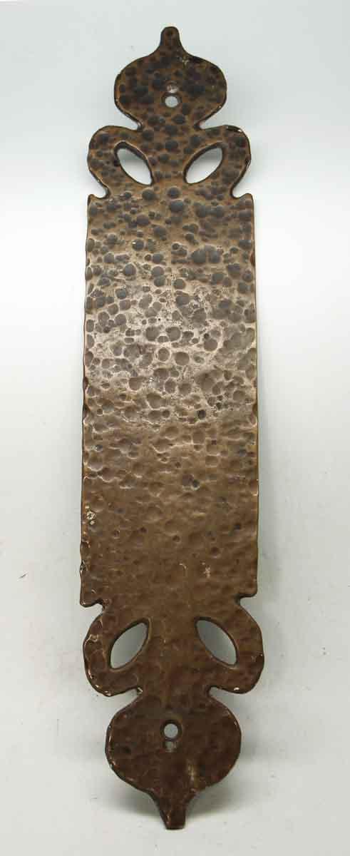 Bronze Hammered Push Plate