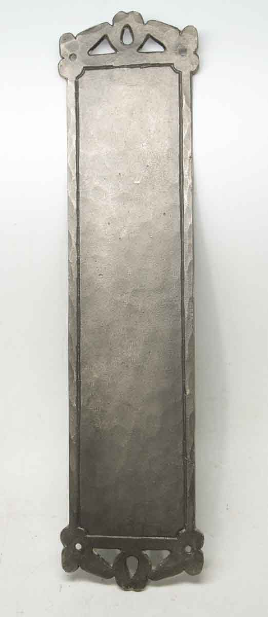 Hammered Push Plate