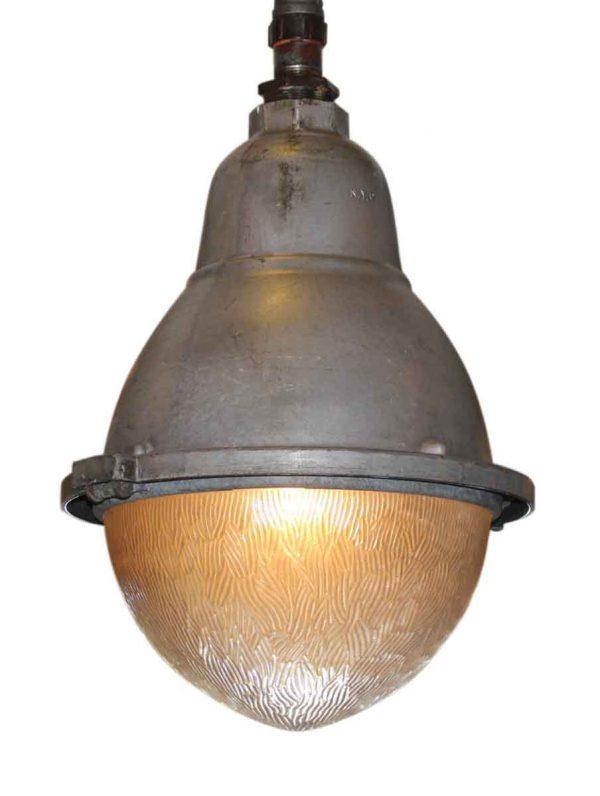 Industrial Egg Shaped Pendant Light