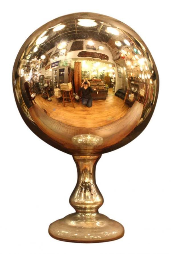 Antique Mercury Gazing Ball