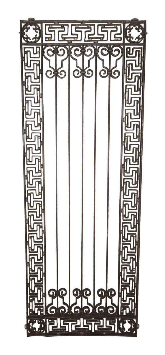 Wrought Iron Greek Key Elevator Door