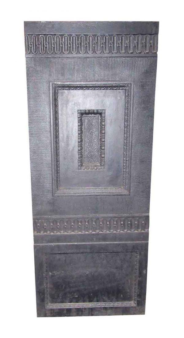 Cast Iron Decorative Panel from Elevator Door