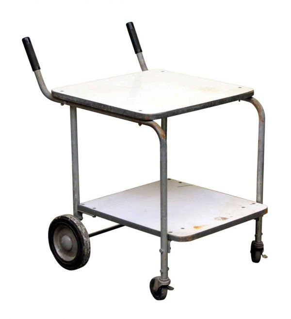 Two Tier Push Cart