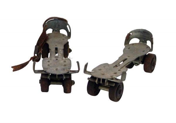 Pair of Olde Roller Skates
